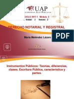 NOTARIAL REGISTRAL