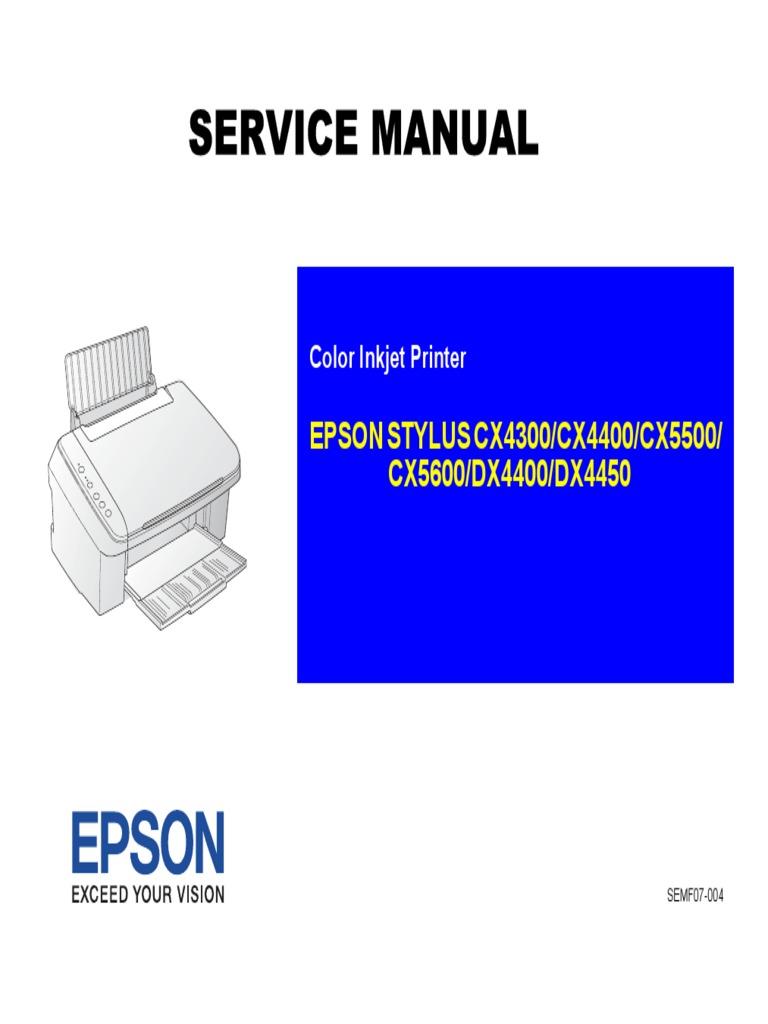 manual servi o cx5600 pdf image scanner printer computing rh es scribd com epson cx5600 manual de usuario epson cx5600 manual pdf