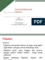 PEMERIKSAAN PALPEBRA DAN SISTEM LAKRIMALIS.pptx