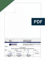 BMC MEC PD 009 Prueba Hidrostatica