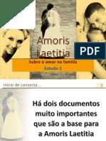 Amoris Laetitia Sugestão Estudo