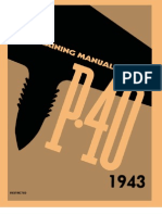 Pilot training manual for the P40