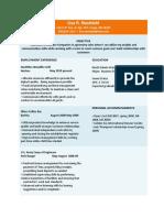Design Resume English 320