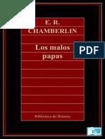 E. R. Chamberlin - Los Malos Papas