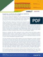 FastAgro - Informativo 05 - Espécies Reativas de Oxigênio e Como Evitar Sua Formação