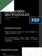 SINDROMES RECTOANALES