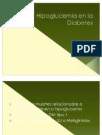 Hipoglucemia y Manejo Intrahospitalario en La Diabetes