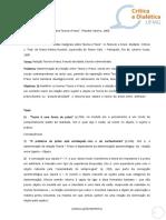 Adorno Notas Marginais Sobre Teoria e Praxis