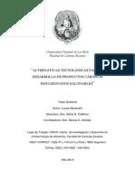 Alternativas Tecnologicas Para El Desarrollo de Prodcutos Carnicos Saludables Emulsionados