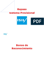 Sistema Previsional ISIL - Repaso Ex Final