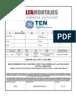 10013581-SNC-OOCC-VIAS-P001_0 Procedimiento Construcción Vías Internas y Acceso