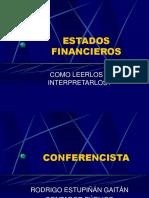 CÓMO LEER E INTERPRETARLOS LOS E F - REG.ppt