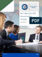 Internal EMS Audit Outline