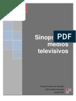 Sinopsis Medios Televisivos 02-08-10