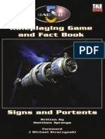 MPG 3330 Babylon 5 RPG and Fact Book 1st Edition