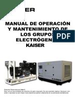 Manual grupos electrogenos Kaiser