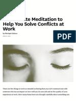 Controle Emocional - 10 minutos sendo Mindful