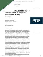 SEMIÓTICA DEL TEATRO Del texto a la puesta en escena de Fernando DE TORO.pdf