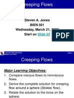 Lecture 7 on Stokes Flow