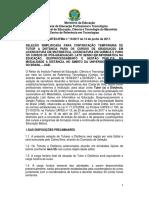 001 Seletivo Professor REIT Edital CERTECIFMA n 132017