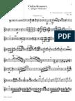 Tchaikovsky Violin Concerto Movement 1 Clarinet Part