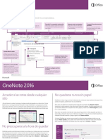 One Note 2016 - Quick Start Guide