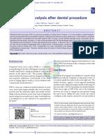 Facial Nerve Paralysis After Dental Procedure