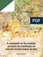Resgate Da Memória - O Candomblé Da Barroquinha _ O Processo de Contrução Do Primeiro Terreiro Baiano de Ketu (ANO 2, Nº 4. ABR)