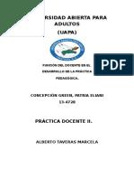 Función Del Docente en El Desarrollo de La Práctica Pedagógica
