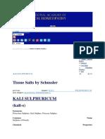 Kali Sulphuricum