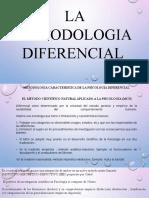 METODOLOGIA DIFERENCIAL