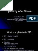 Spasticity After Stroke