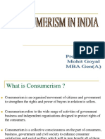 Consumerism in India PPT