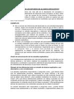 ALCANCE EXPLICATIVO - CONCLUSIONES