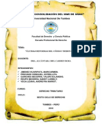 Últimas Reformas Al Código Tributario.