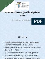 Prezentacja - Kościół Chrześcijan Baptystów