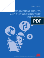Fundamental Rights and the Working Time Directive
