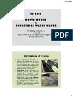 Waste Water 1.
