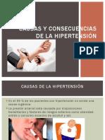 Causas y Consecuencias de La Hipertensión
