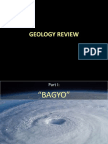 "Geology Reviewer on ""Bagyo and Earthquakes"""