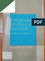 Expediciones Españolas en El Siglo XVIII - El Paso Del Noreste