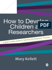 Develop Children as Researchers