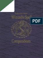 Wizards Spell Compendium Volume 1