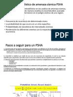 Análisis Probabilístico de Amenaza Sísmica PSHA Ppt