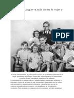 Feminismo La Guerra Judía Contra La Mujer y La Familia