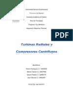 Maquinas Termicas Turbinas Radiales