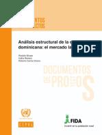 Análisis estructural de la economía dominicana