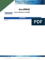 Aula Bônus - Prazos e Números Da Cldf