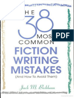38 Most Common Fiction Writing Mistakes, The - Jack M Bickham.epub