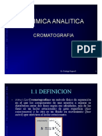 Magister Cromatografia 2013